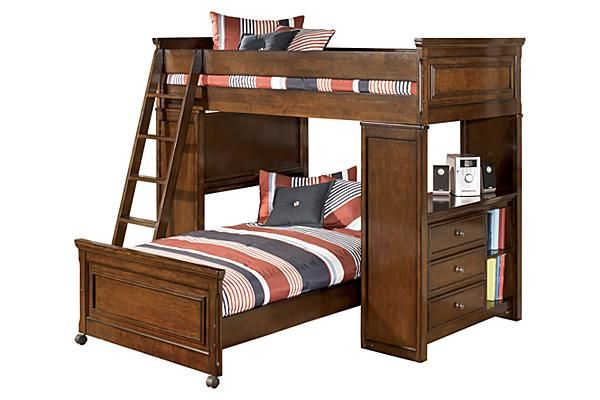 Best The Portsquire Youth Loft Bed From Ashley Furniture 400 x 300