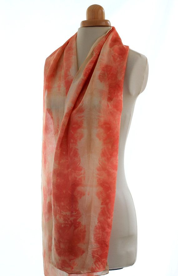 Check out this item in my Etsy shop https://www.etsy.com/uk/listing/485808862/eco-print-naturally-dyed-habotai-8m-silk