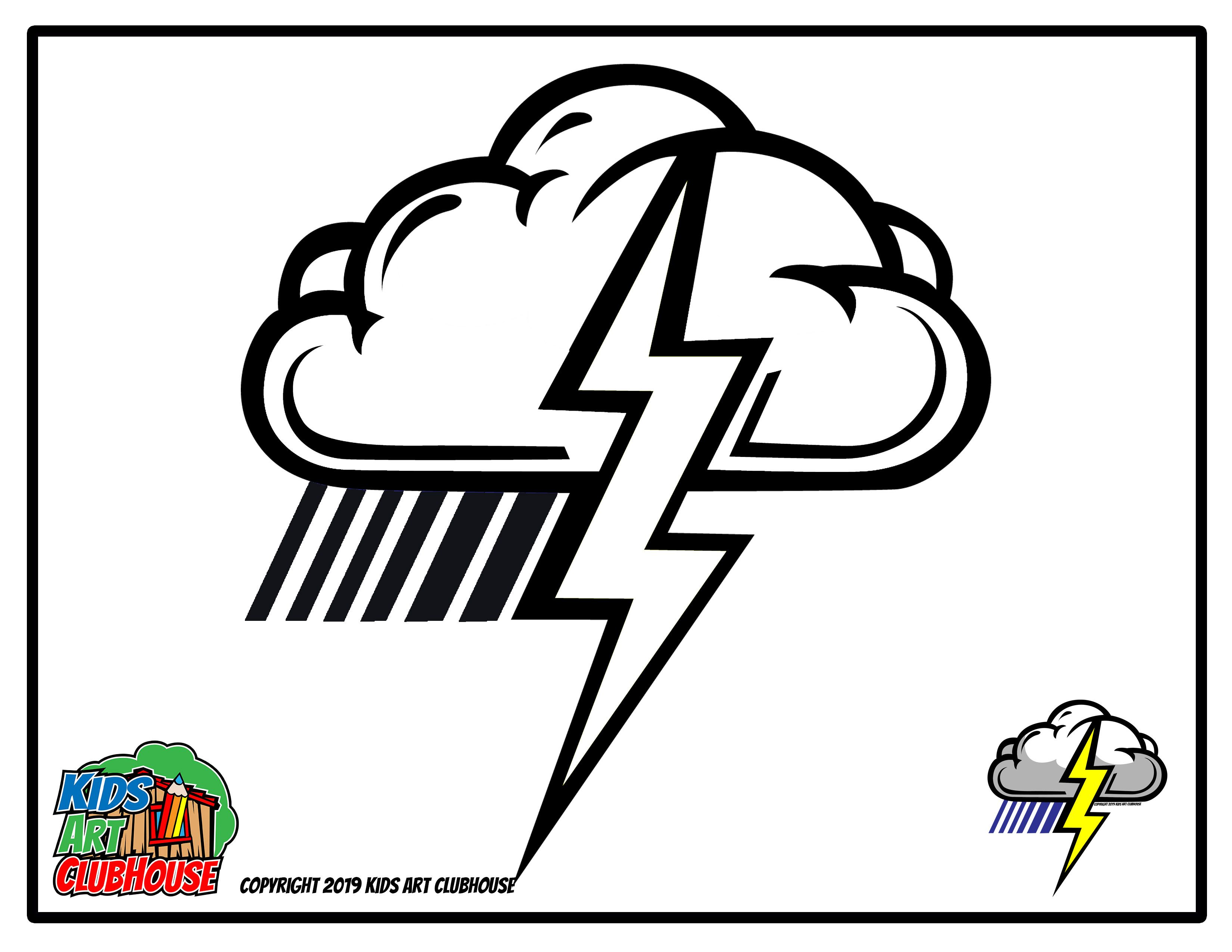 How To Draw A Lightning Bolt Printable Coloring Page Printable Coloring Pages Coloring Pages Printable Coloring