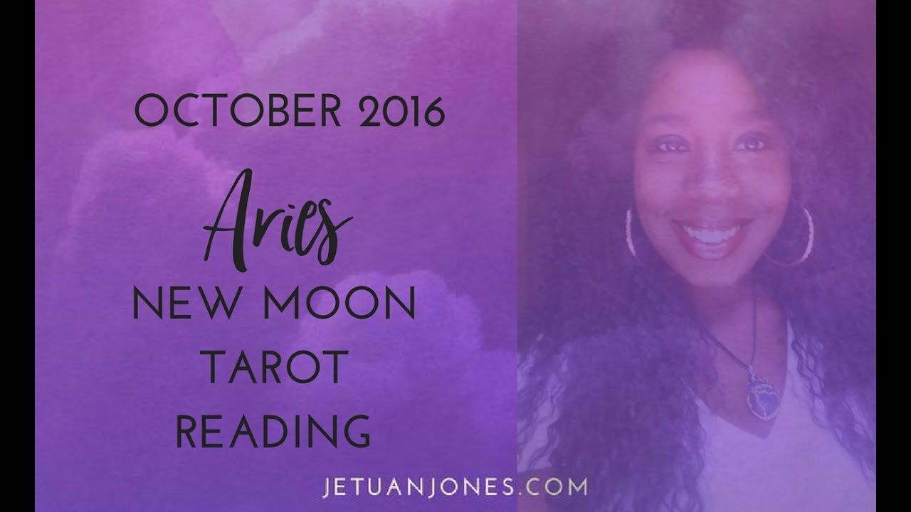 October 2016 New Moon Reading for Aries- Slow Down and center yourself