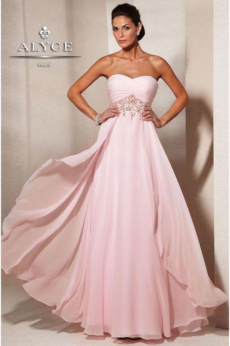 Alyce Designs Evening Dress- TheRoseDress.com MOB dresses | Big Fashion Show designer evening dresses