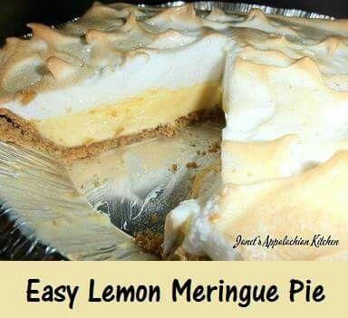 Easy Lemon Meringue Pie Lemon Meringue Pie Easy Lemon Meringue Pie Recipe Condensed Milk Meringue Pie Recipes