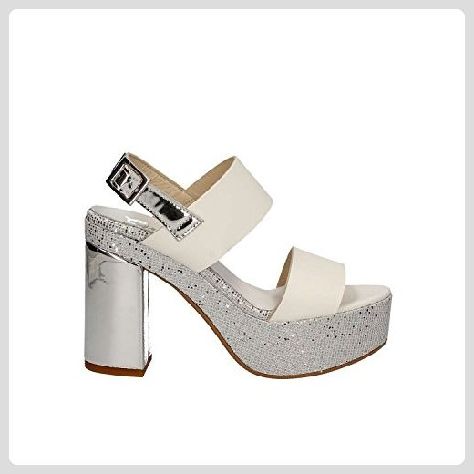 Daniela 08789, Damen, Sandalen/Fashion-Sandalen, Silber (Silber 09), EU 39 Pilar Abril