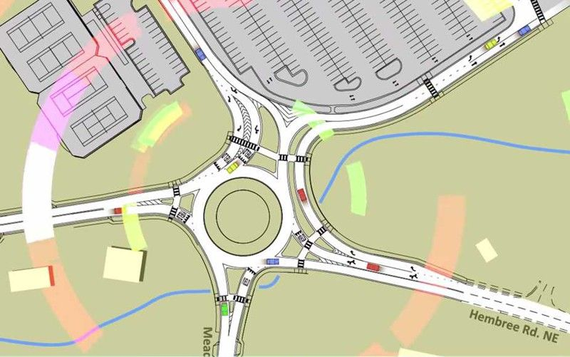 Image Result For Unusual Roundabout Urban Design Future City Roundabout
