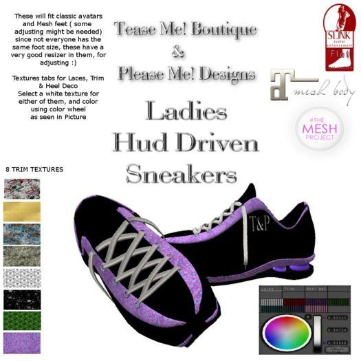 T M B  LADIES SNEAKERS -HUD DRIVEN - For Classic & Mesh Feet