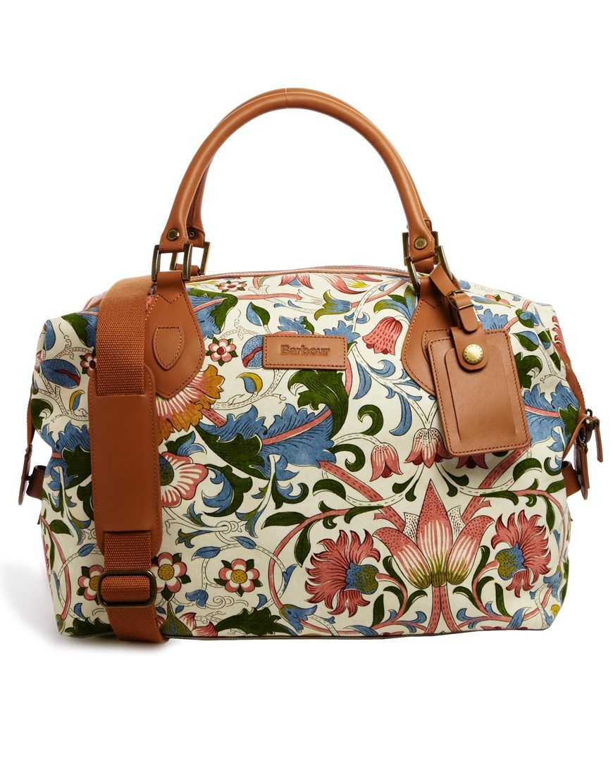 Barbour Morris Print Explorer Bag | Carry it | Pinterest | Barbour ...