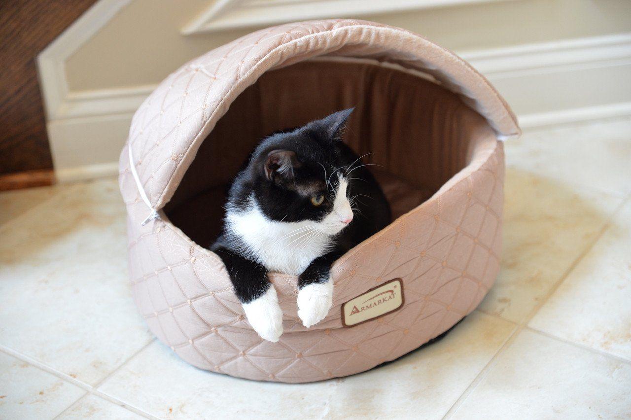 designer catdog bed w cover by armarkat  bed covers products  - designer catdog bed w cover by armarkat – designer pet furniture accessories