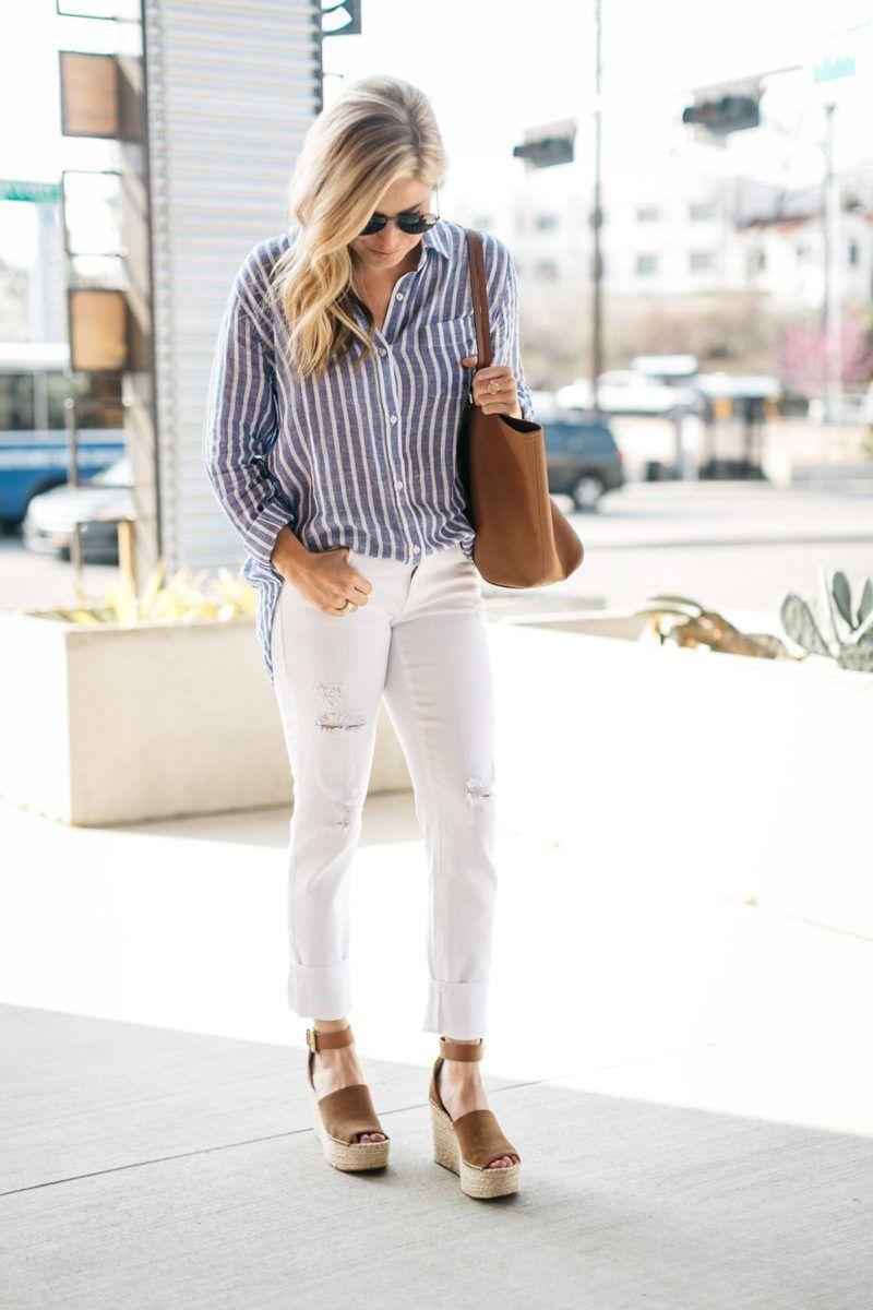 Pantalones Combinar Pantalón Un BlancoOtoño Zapatos Qué 6vIYy7gbf
