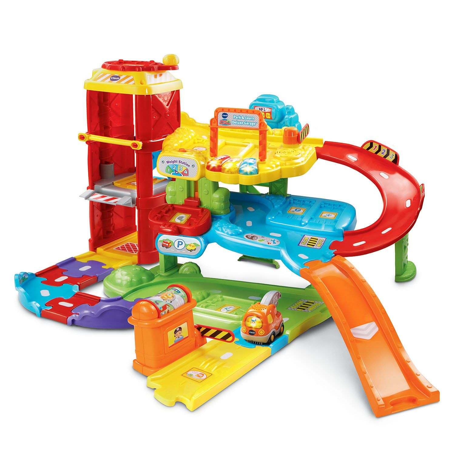 Amazon Com Vtech Go Go Smart Wheels Park And Play
