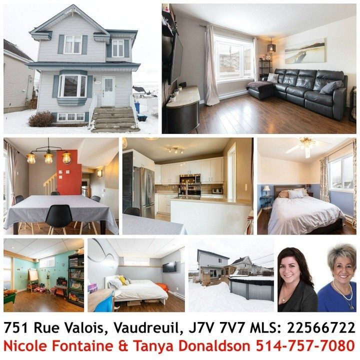 Photo of Perfect home 🏡in Vaudreuil-Dorion for small family or first time buyers! 3+1 …