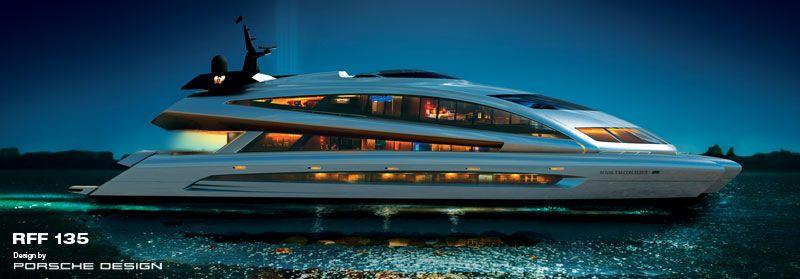 Porsche Design Studio for Royal Falcon Yachts RFF 135