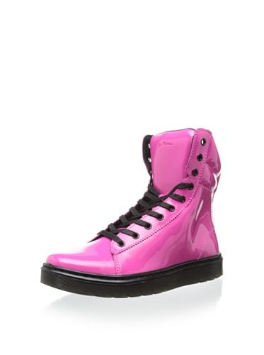 Dr. Martens Women's Mix Boot (Hot Pink Patent)