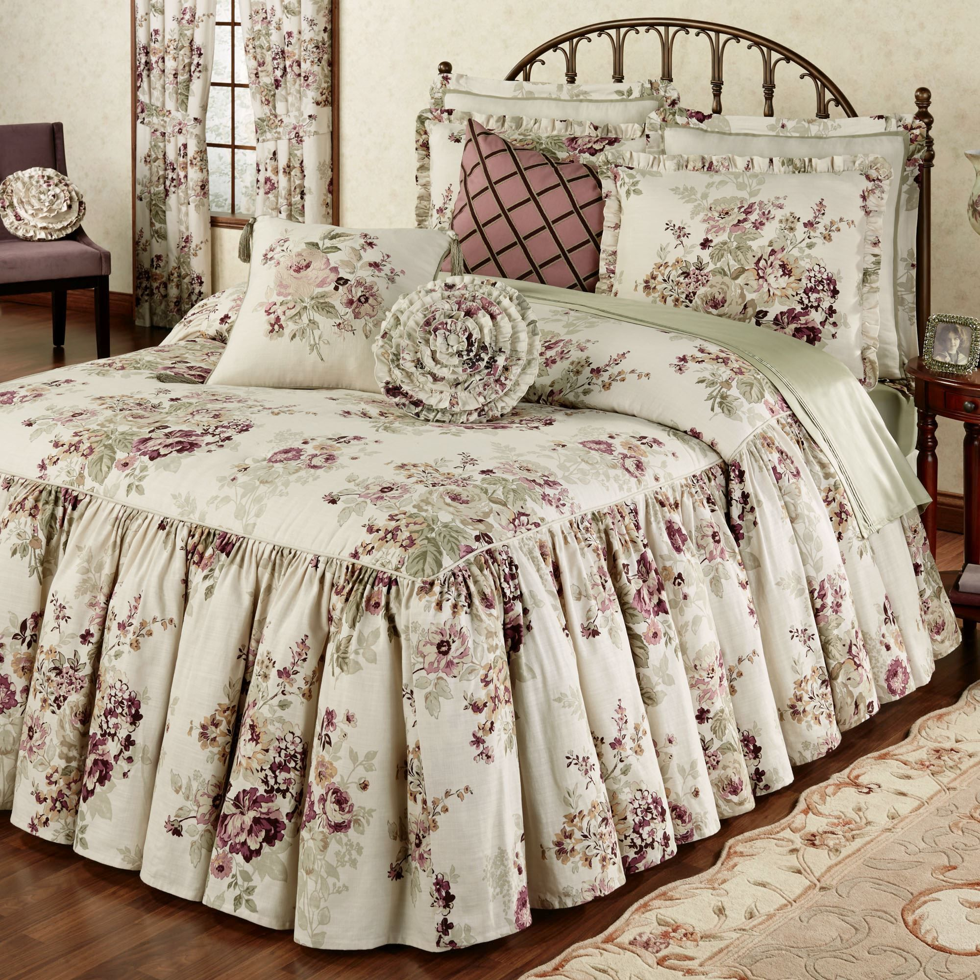cottage curtain stylish add or a bedding country ideas guest lovely touch curtains beautiful luxury style of bedspreads designs master and to bedroom your