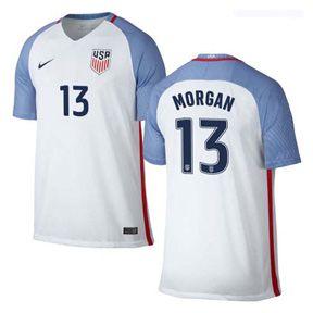 022594e6a Nike USA Alex Morgan  13 Men s Soccer Jersey (Home 2016 17)