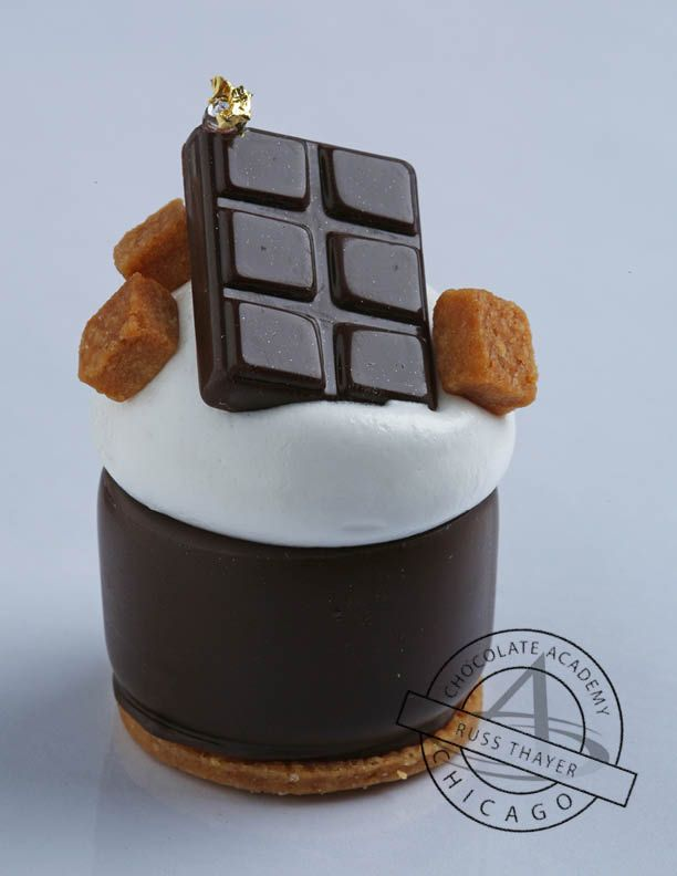 S'more by Chef Russ Thayer at the Chicago Chocolate Academy