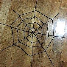 蜘蛛の巣 毛糸 作り方 蜘蛛の巣 ハロウィーン 手作り ハロウィン