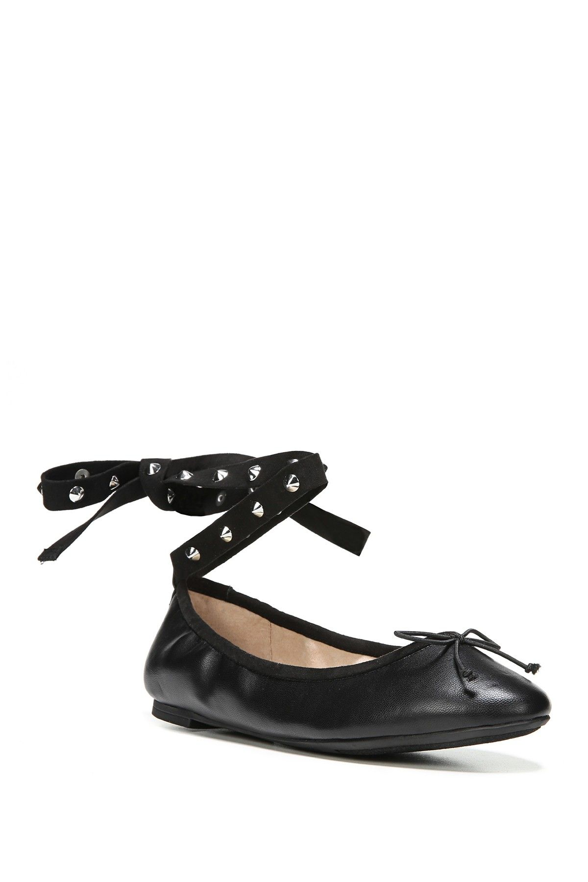 438eb4e1f31e CIRCUS BY SAM EDELMAN Celyn Studded Lace-Up Ballet Flat