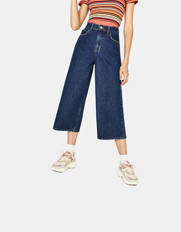 High rise culotte jeans   Fashion, Clothes, Jeans