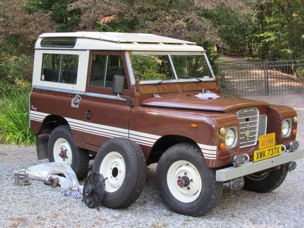 1982 Land Rover County - 18,000 miles on the odometer