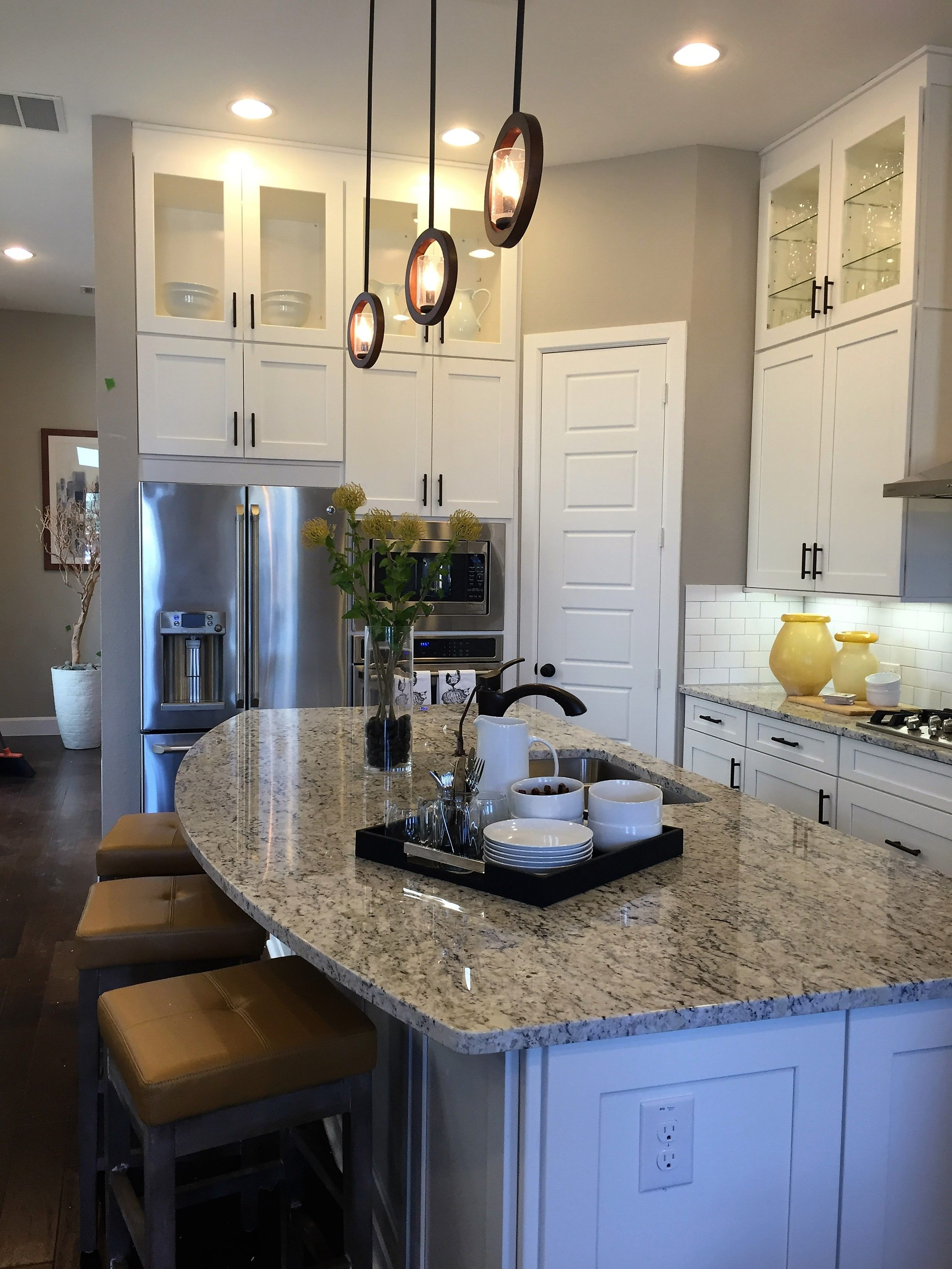 Pin by Wendy Holguin on home ideas | Model home decorating ... on Kitchen Model Ideas  id=46384