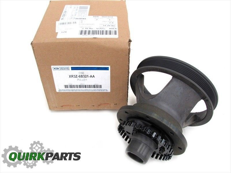 1999 2000 Ford Mustang 3 8 V6 Engine Harmonic Balancer Crankshaft Pulley Oem New For 214 15 2000 Ford Mustang Vintage Travel Trailers Mustang
