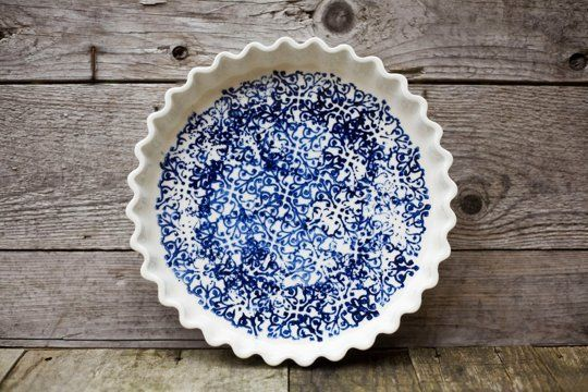Pie Dish from Art & Manufacture Ceramics — Faith's Daily Find 07.10.13
