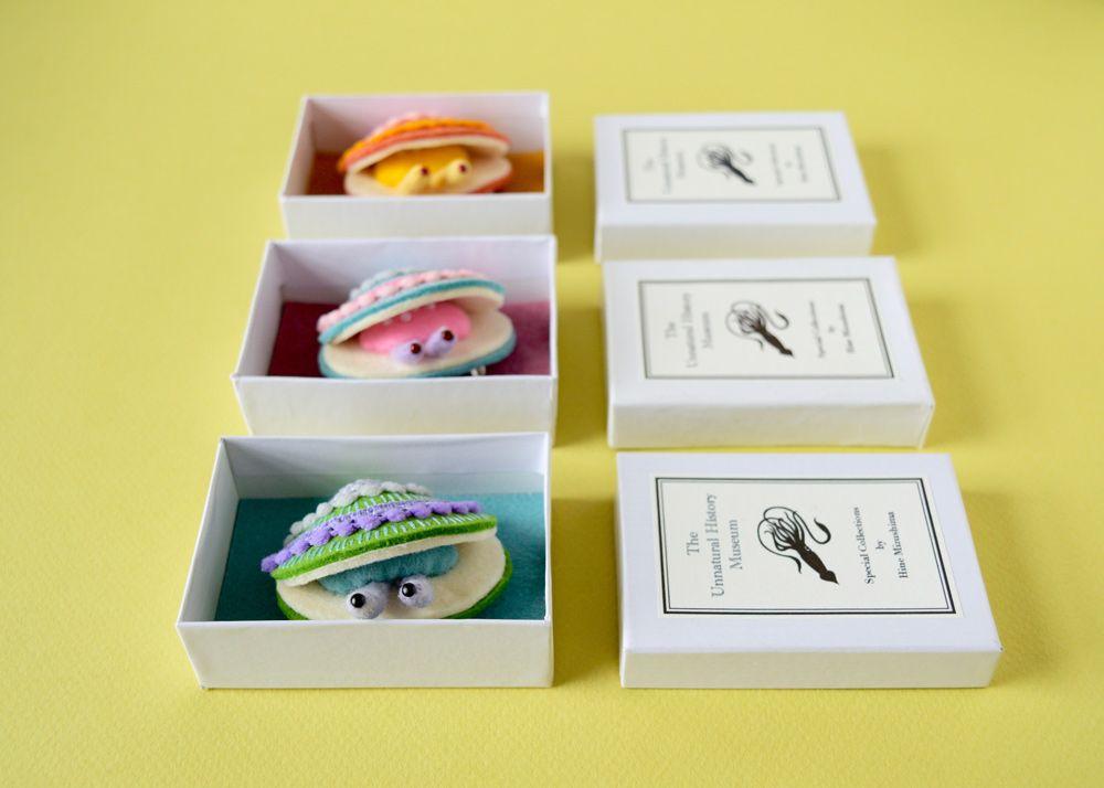 다음 @Behance 프로젝트 확인: \u201cLittle Clam Brooches\u201d https://www.behance.net/gallery/49633019/Little-Clam-Brooches