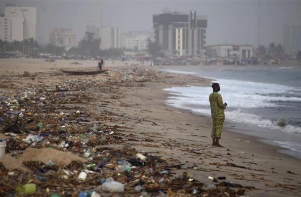 Bar Beach Lagos Nigeria