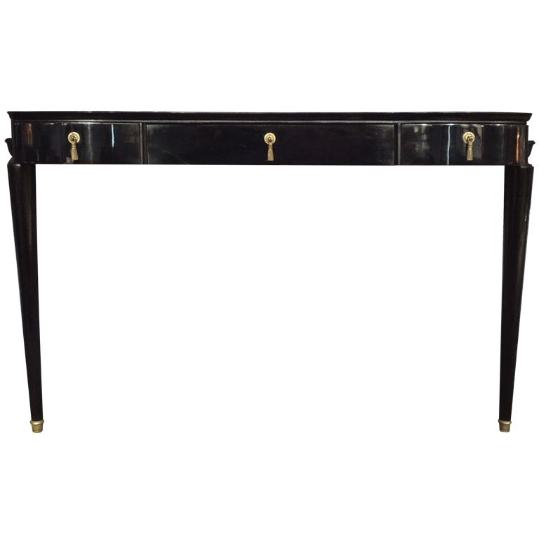elegant console table. Art deco console table  Elegant from 1940 late art