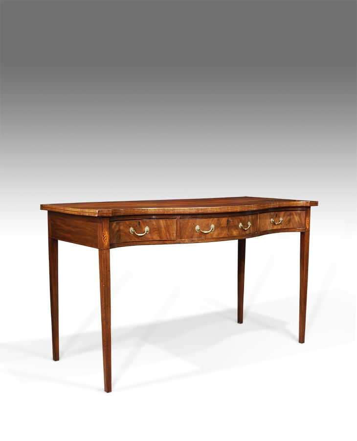 Georgian serving table in 2019 | Antique Dining Room ...