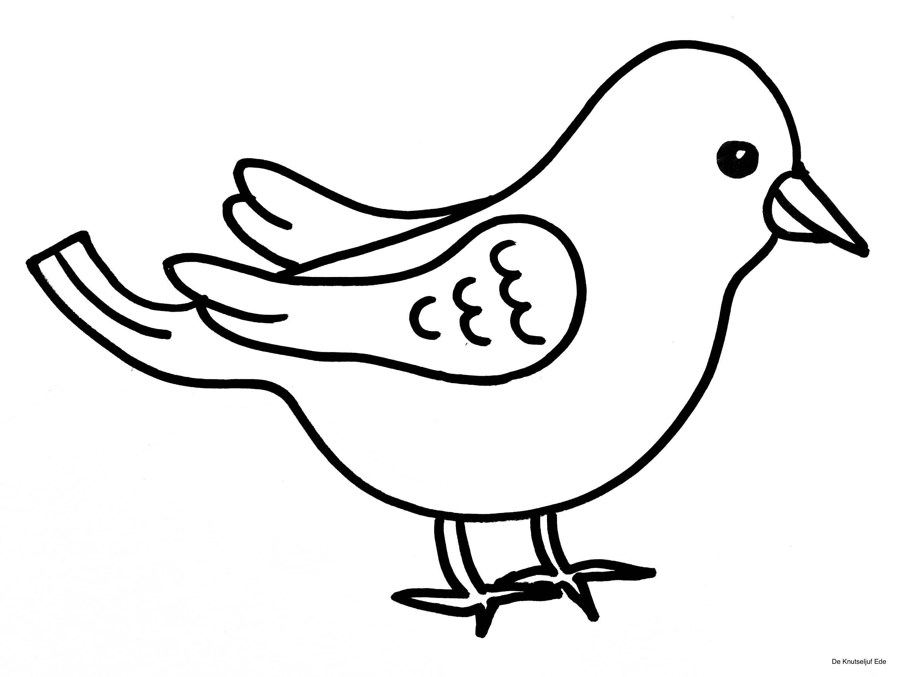 Pin Von Bianca Fischer Auf Kleurplaten In 2020 Ausmalbilder Vogel Vogel Malvorlagen Bunter Vogel