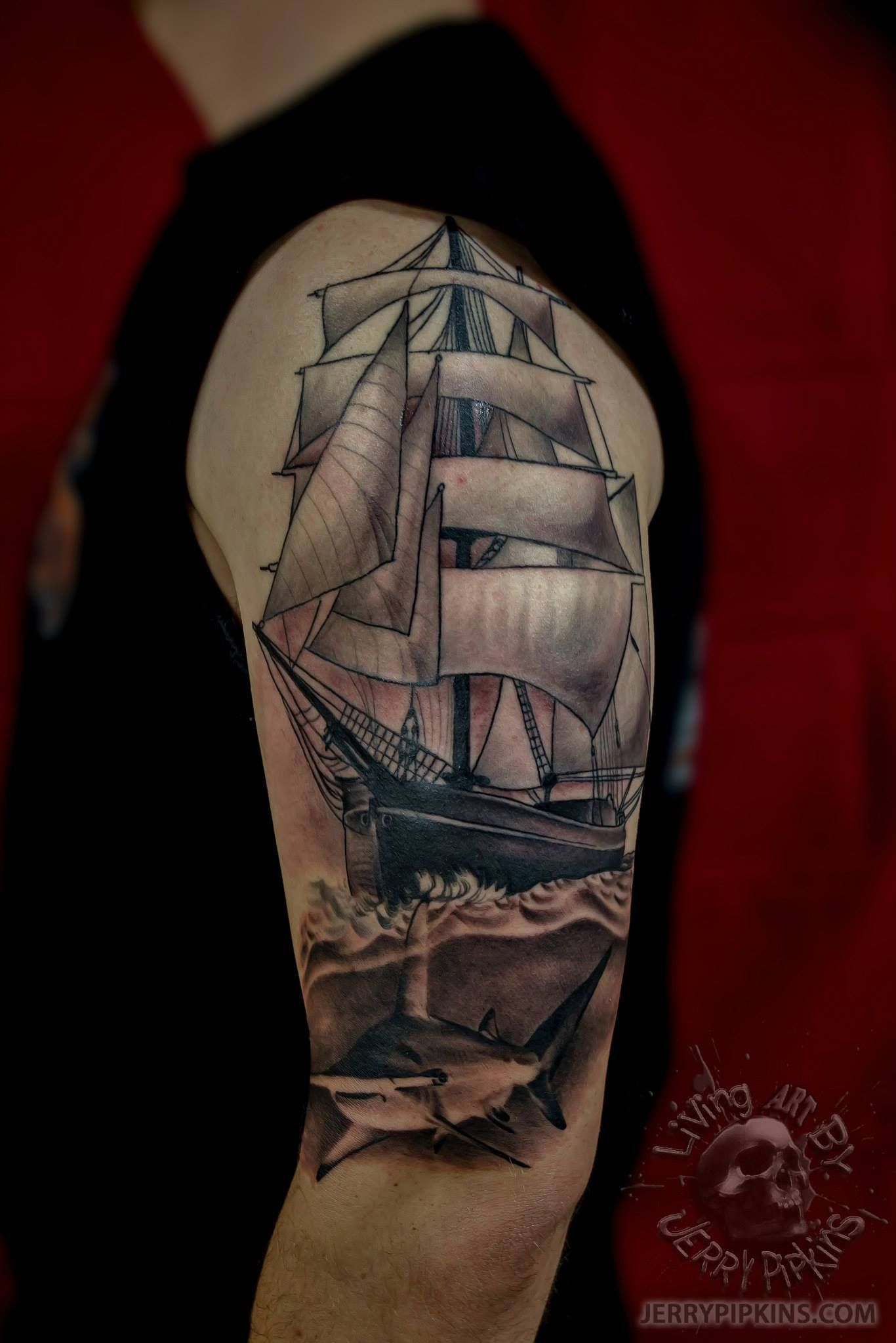 Half sleeve in progress much more to come we are a