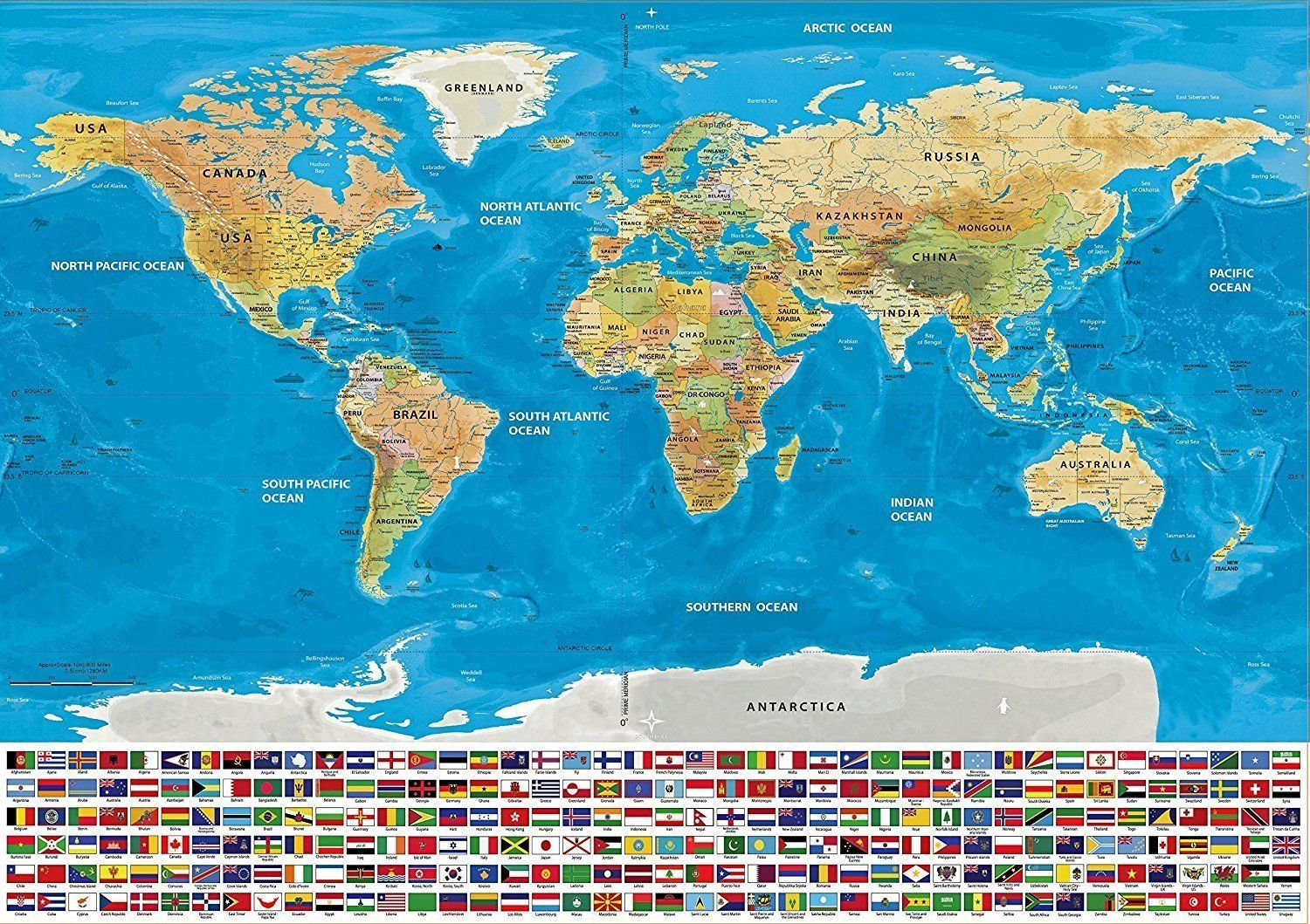 Track your travels scratch off world map poster with country flags scratch off world map poster with country flags gumiabroncs Choice Image