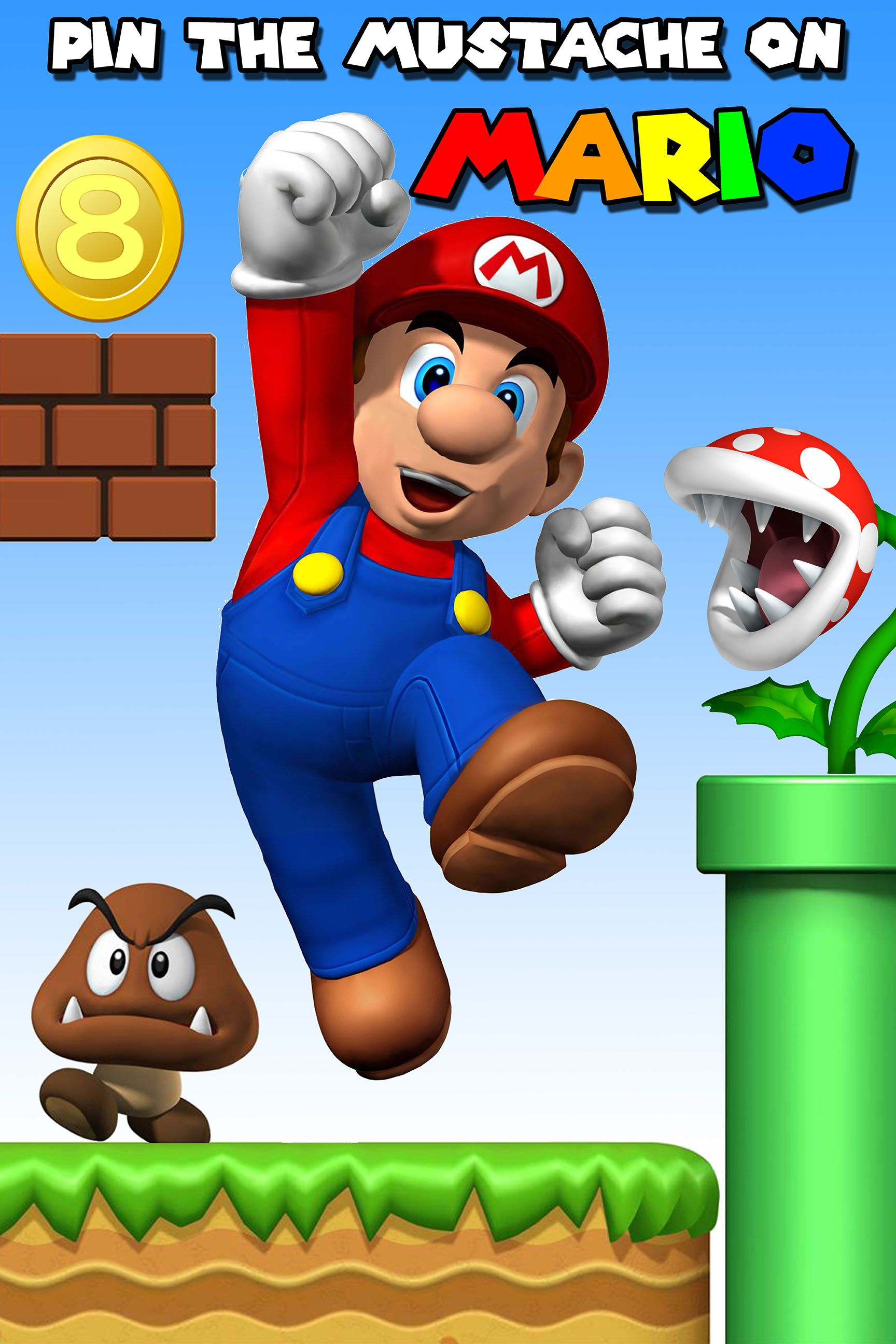 Super Mario Brothers Birthday Party Ideas
