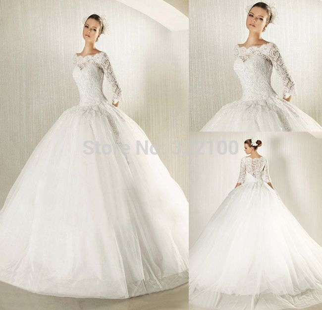 Find More Wedding Dresses Information About Customer Made Ball Gown Muslim Arabic Dress Long Sleeve
