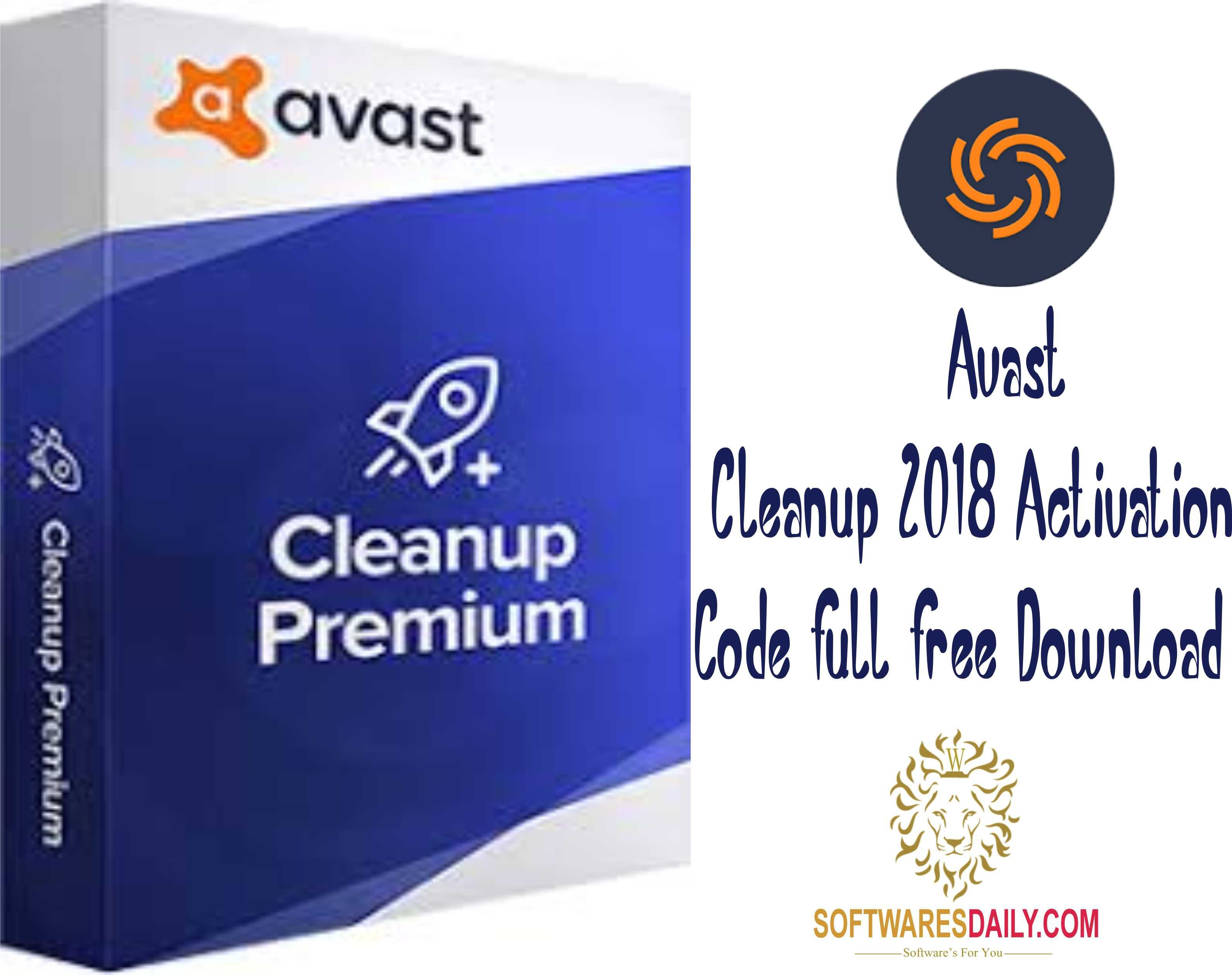 serial avast cleanup premium 2018