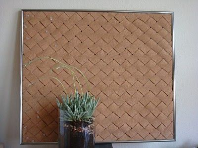 Woven Cork Board