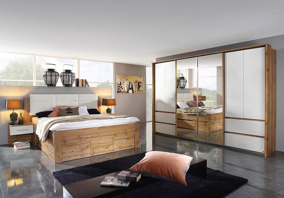 rauch Schlafzimmer-Set »Weingarten«, Set aus Bett, 16 Nachttischen