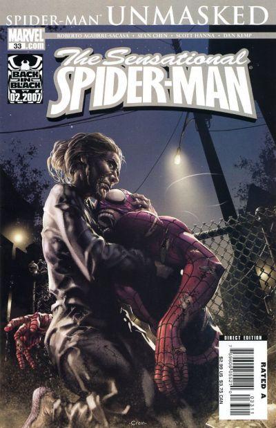 Sensational Spider-Man Vol. 2 # 33 by Clayton Crain
