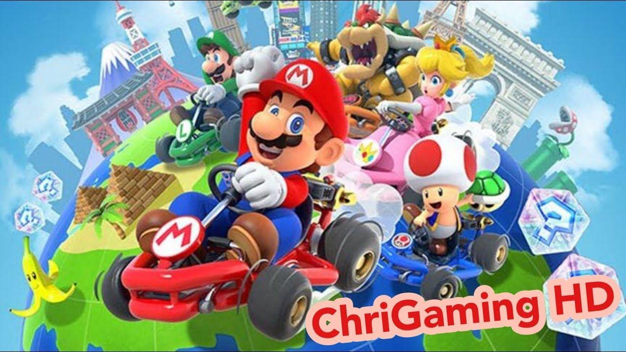 Mario Kart Tour My First Gameplay Ios Youtube Mario Kart