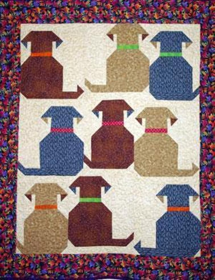 Waggly Tails Baby quilts Pinterest Quilts Dog quilts and Cool Dog Quilt Patterns