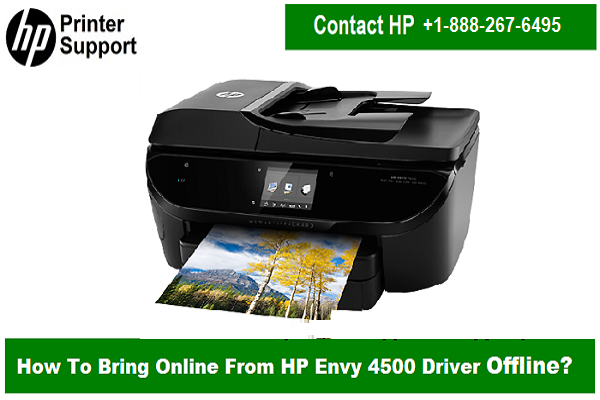 HP #envy #4500 #printer goes #offline just because of the