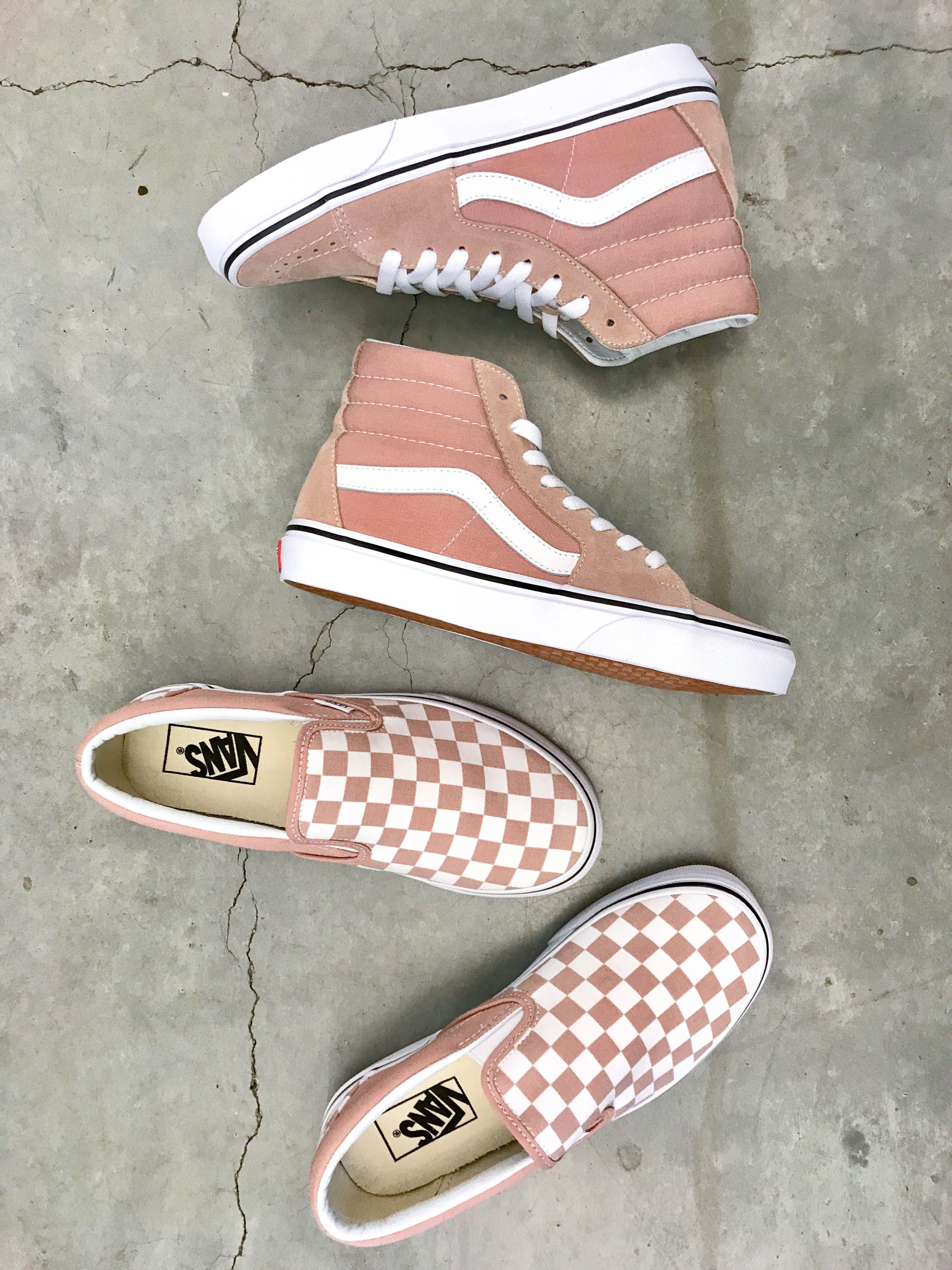 Checkered Board Classic Slip On. I N S T A G R A M  EmilyMohsie. I N S T A  G R A M  EmilyMohsie Pink Vans 1c32d7ed2