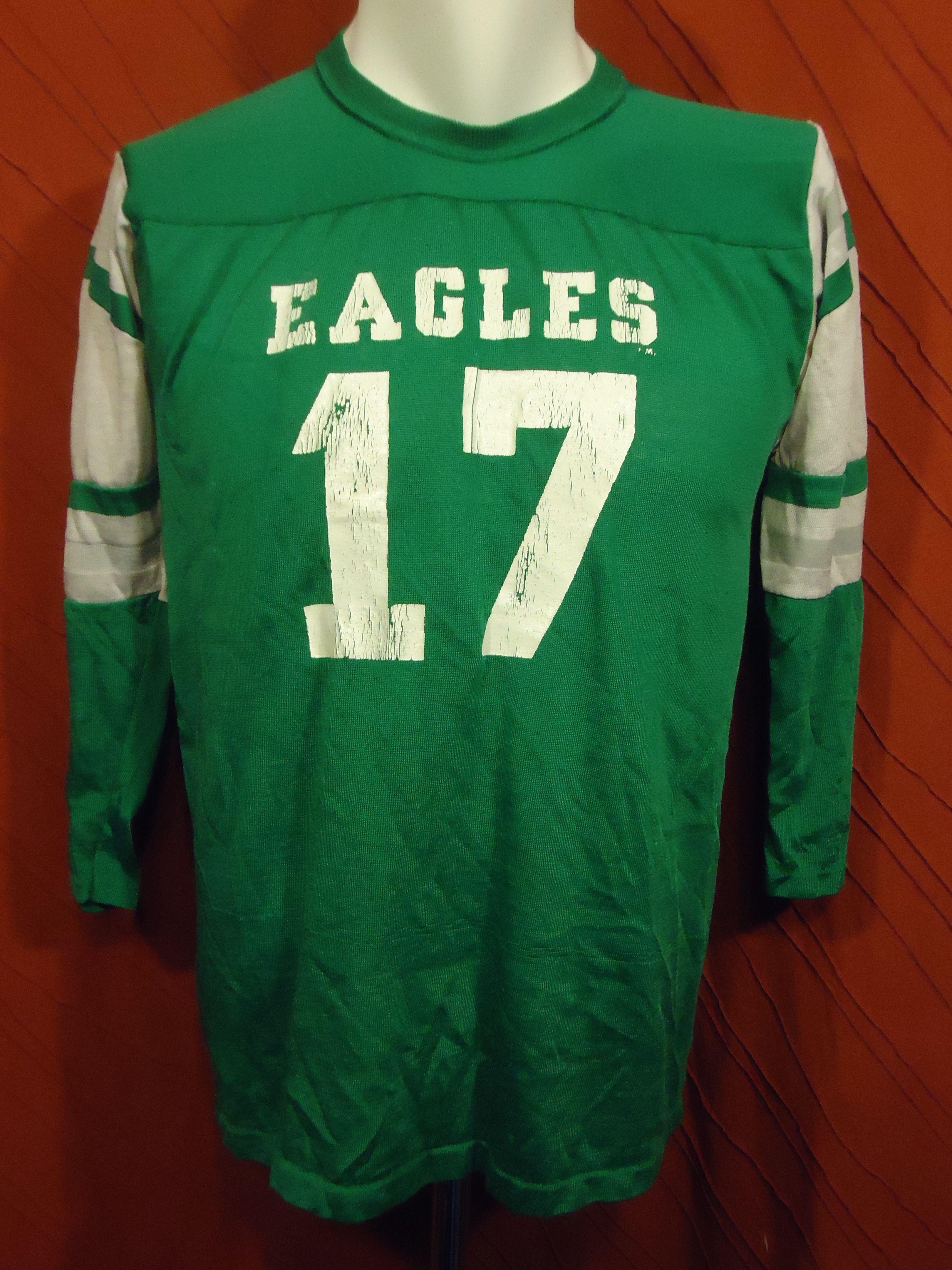 Philadelphia Eagles Vintage Jersey 17 Rawlings Green White Youth Xl In 2020 Vintage Jerseys Fashion Gadgets Fashion