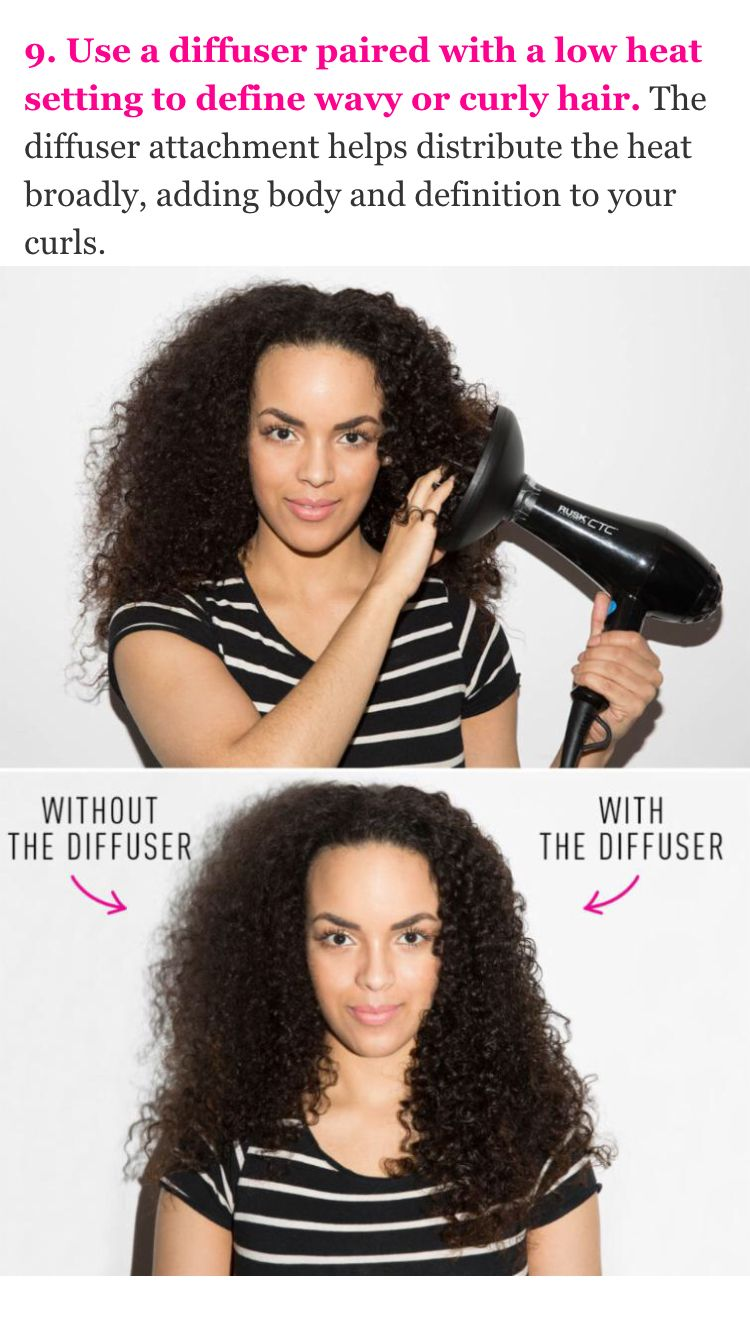 Help Stop Frizzy Hair Hair Diffuser Curly Hair Styles Curly Hair Styles Naturally