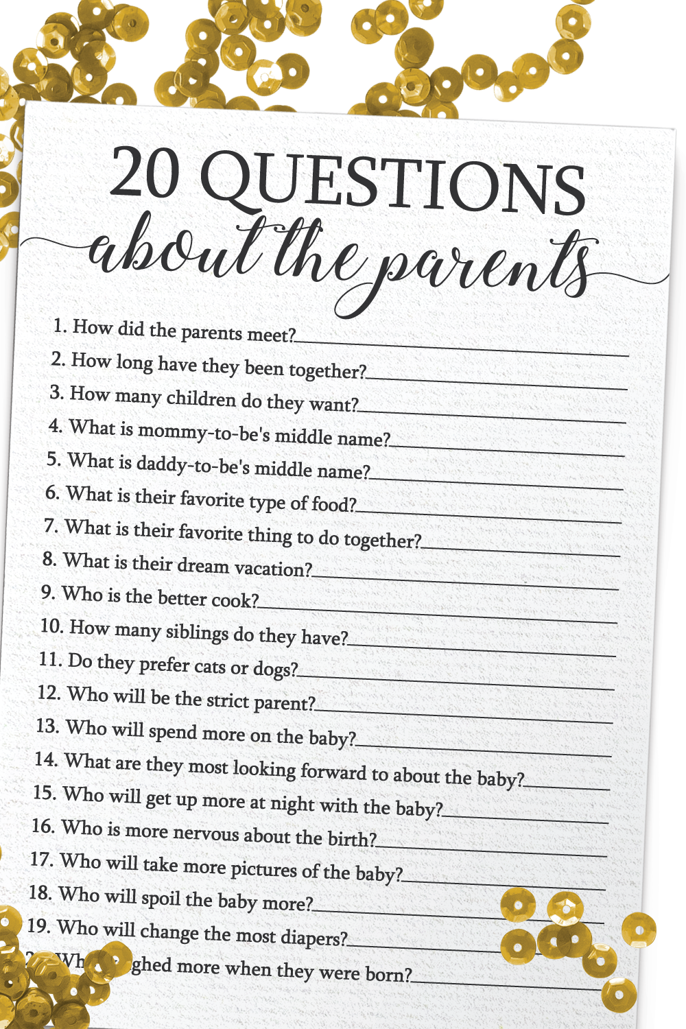 Is it ok to put both parents to be on baby shower invitation? - Answers