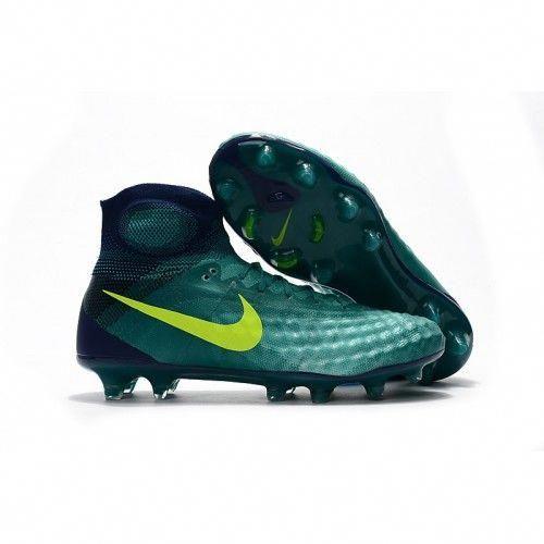 new products 365ad 3e443 Nike Magista Obra II FG Grön Fotbollsskor  soccer