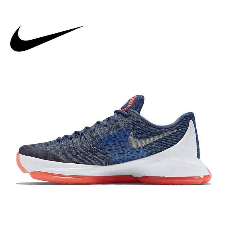 f8ae361f8253 Official Original NIKE Originals KD 8 EP Low Men s Breathable Cool Basketball  Shoes  sk
