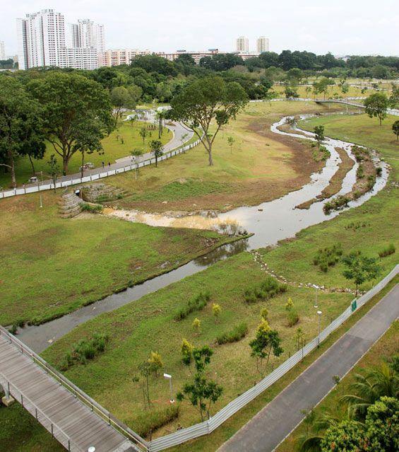Kallang River Bishan Park Singapore Atelier Dreiseitl Park Landscape Landscape Landscape Architecture