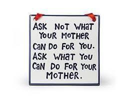 To my children.  LOL